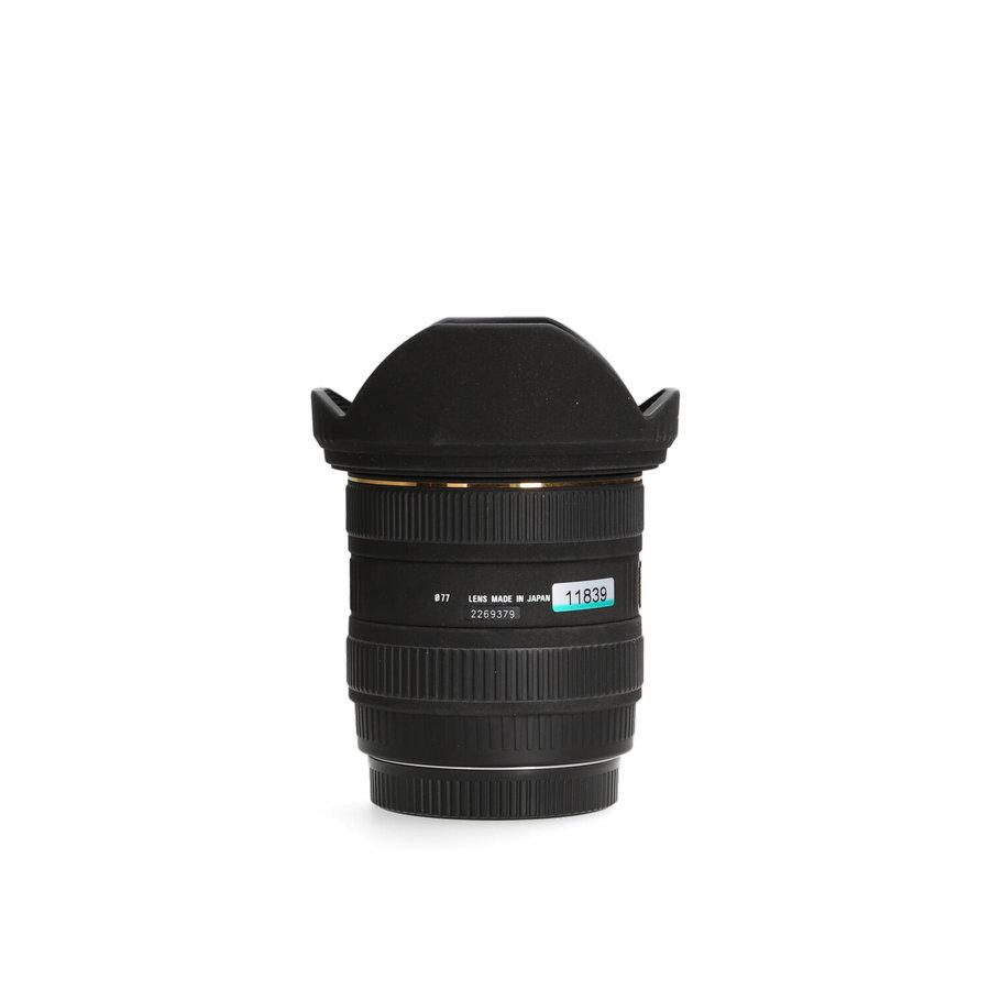 Sigma 10-20mm 4-5.6 EX DC HSM (Canon)