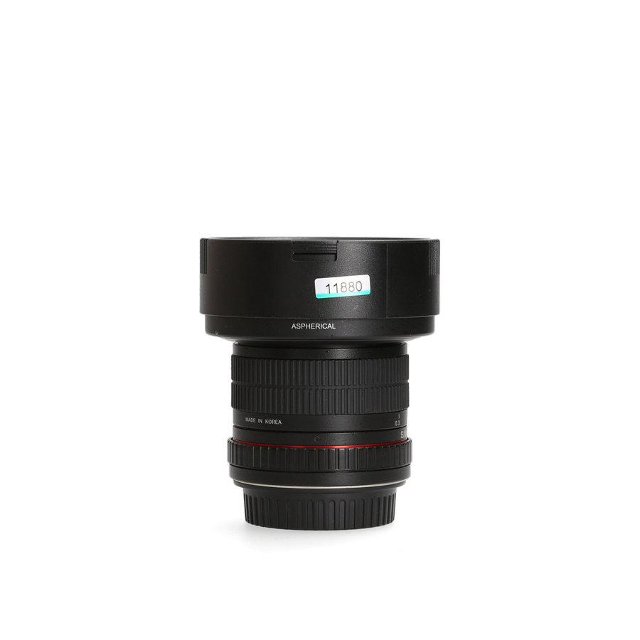 Samyang 8mm 3.5 Fisheye CS II (Canon)
