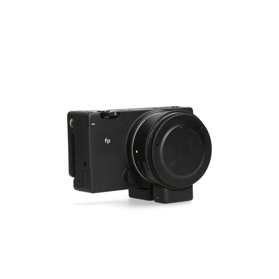 Sigma FP + EF-Lens-adapter + accu's
