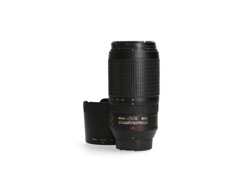 Nikon 70-300mm 4.5-6.3 G AF-S ED VR DX