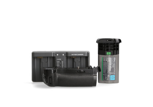 Nikon MB-D18 Grip + Booster accu & oplader (Voor Nikon D850)