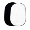 Bresser Bresser BR-3 Opvouwbare achtergrond 180 x 240 cm 2-zijdig zwart/wit
