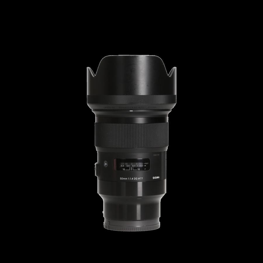Sigma 50mm 1.4 DG Art (Sony) Incl. 21% BTW