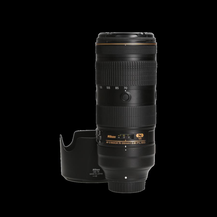 Nikon 70-200mm 2.8 E FL ED VR  incl. 21% BTW