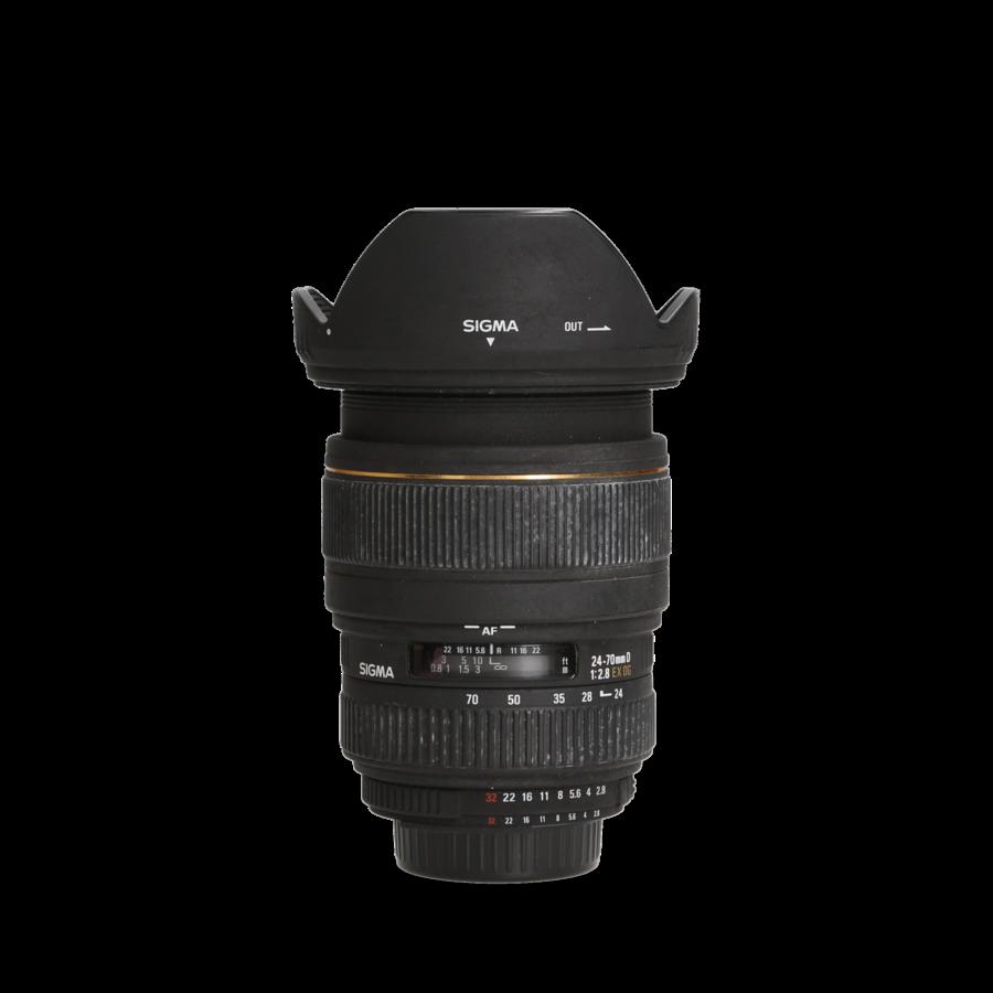 Sigma 24-70mm 2.8 EX DG Macro (Nikon)