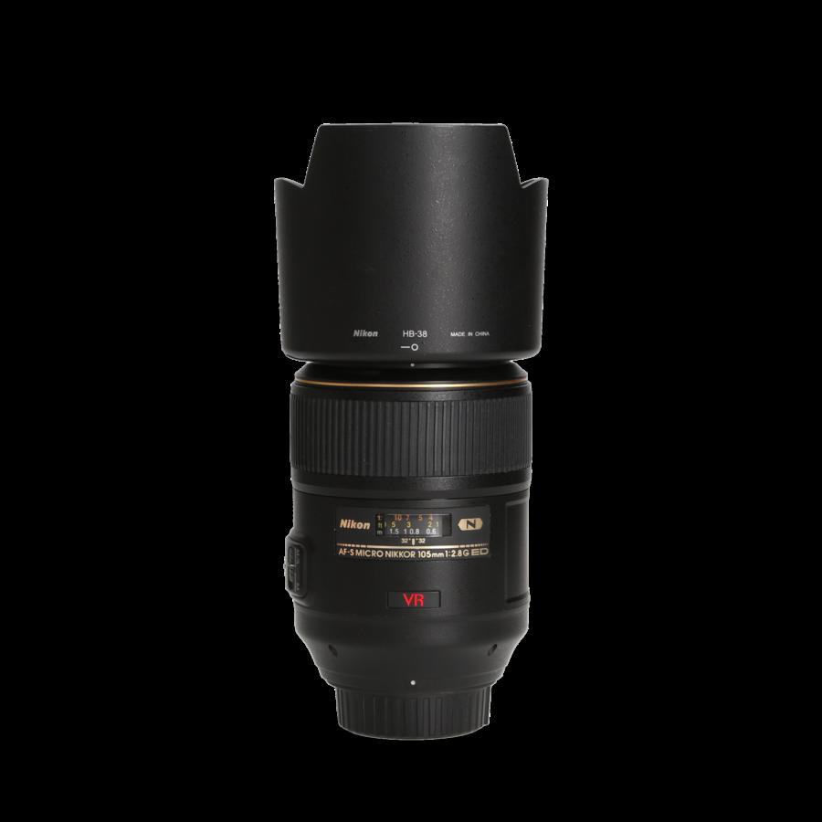 Nikon 105mm 2.8 G AF-S ED VR MACRO - Gereserveerd