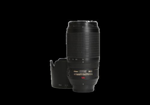 Nikon 70-300mm 4.5-6.3 G AF-S ED VR - Gereserveerd