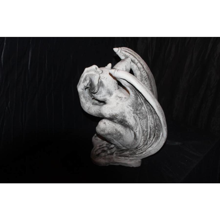Waterspuwer, steen wachter-3
