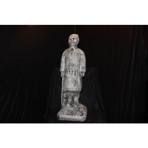 sculptuur van het terracotta leger