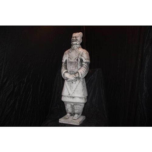 Poortwachter of terracotta leger