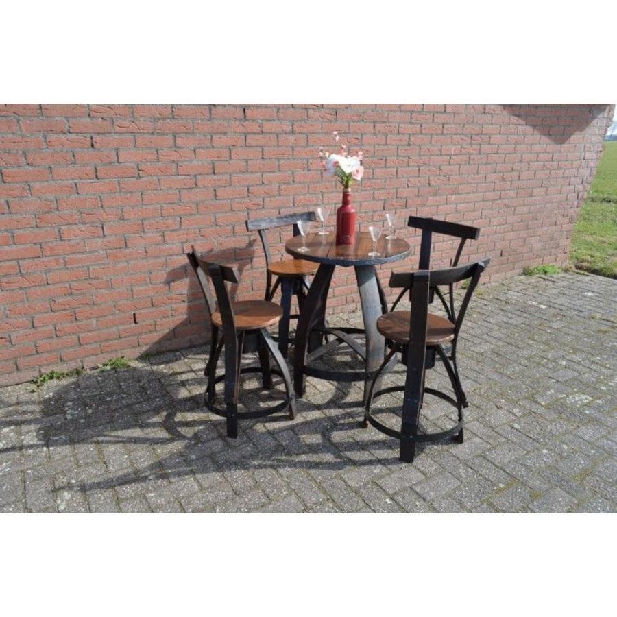 Bistro tafeltje met 4 stoelen-1