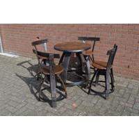 thumb-Bistro tafeltje met 4 stoelen-4
