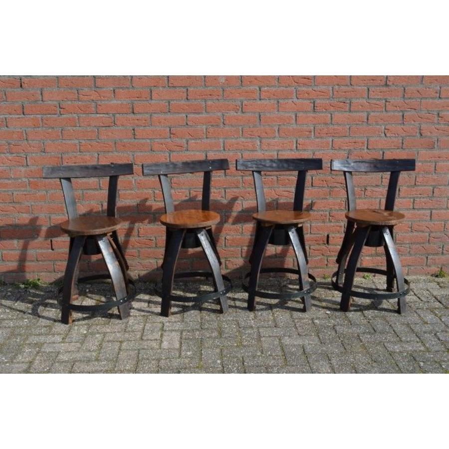 Bistro tafeltje met 4 stoelen-6