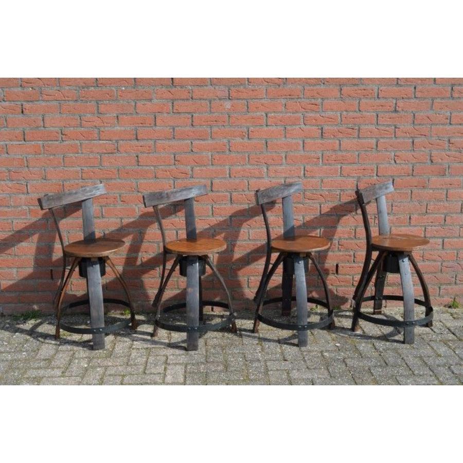 Bistro tafeltje met 4 stoelen-8