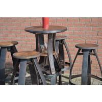 thumb-Bistro sta tafel met 4 krukken-5