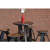 thumb-Bistro sta tafel met 4 krukken-6