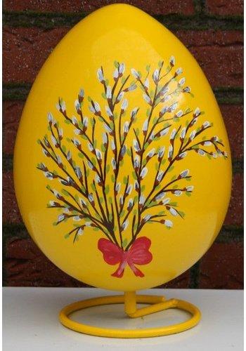 Ei voor Pasen, beschilderd ei ( geel )
