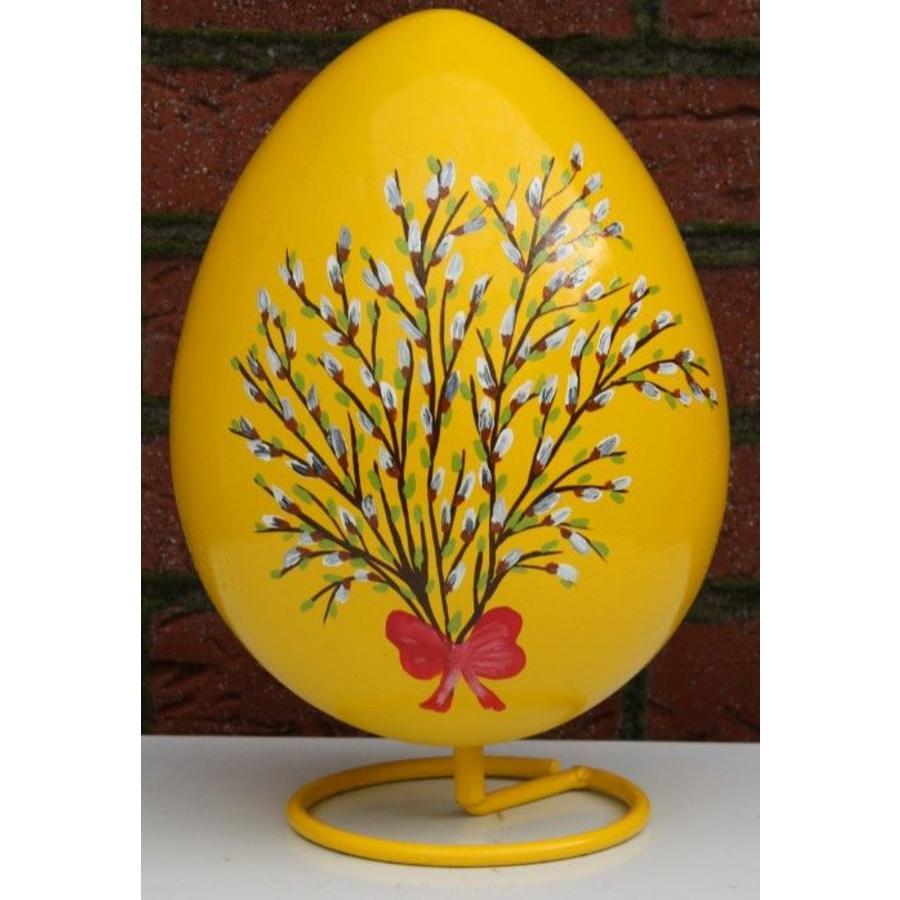 Ei voor Pasen, beschilderd ei ( geel )-1