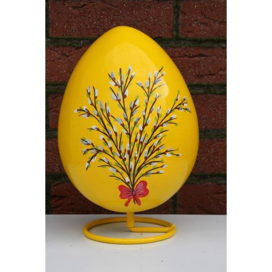 Ei voor Pasen, beschilderd ei ( geel )-2