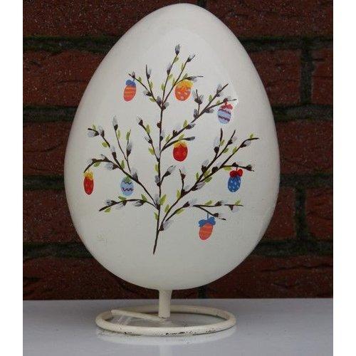 Beschilderd ei ( wit )