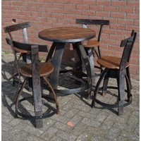 thumb-Bistro tafeltje met 4 stoelen-2