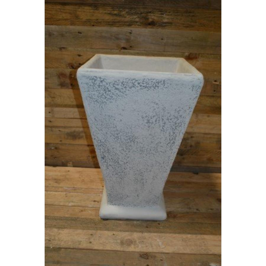 Bloempot vierkant ( H 60 cm )-1