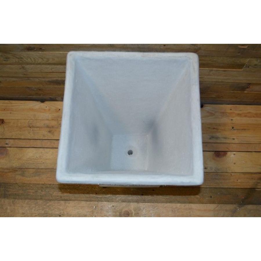 Bloempot vierkant ( H 60 cm )-3