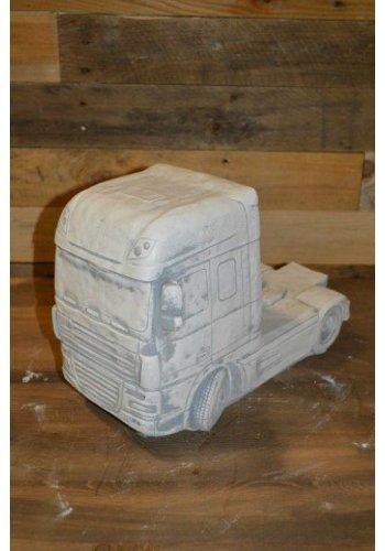 Vrachtwagen tuindecoratie