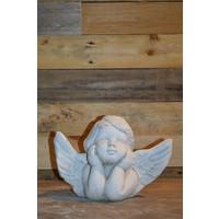 thumb-Engel met hoofd in de handen-1