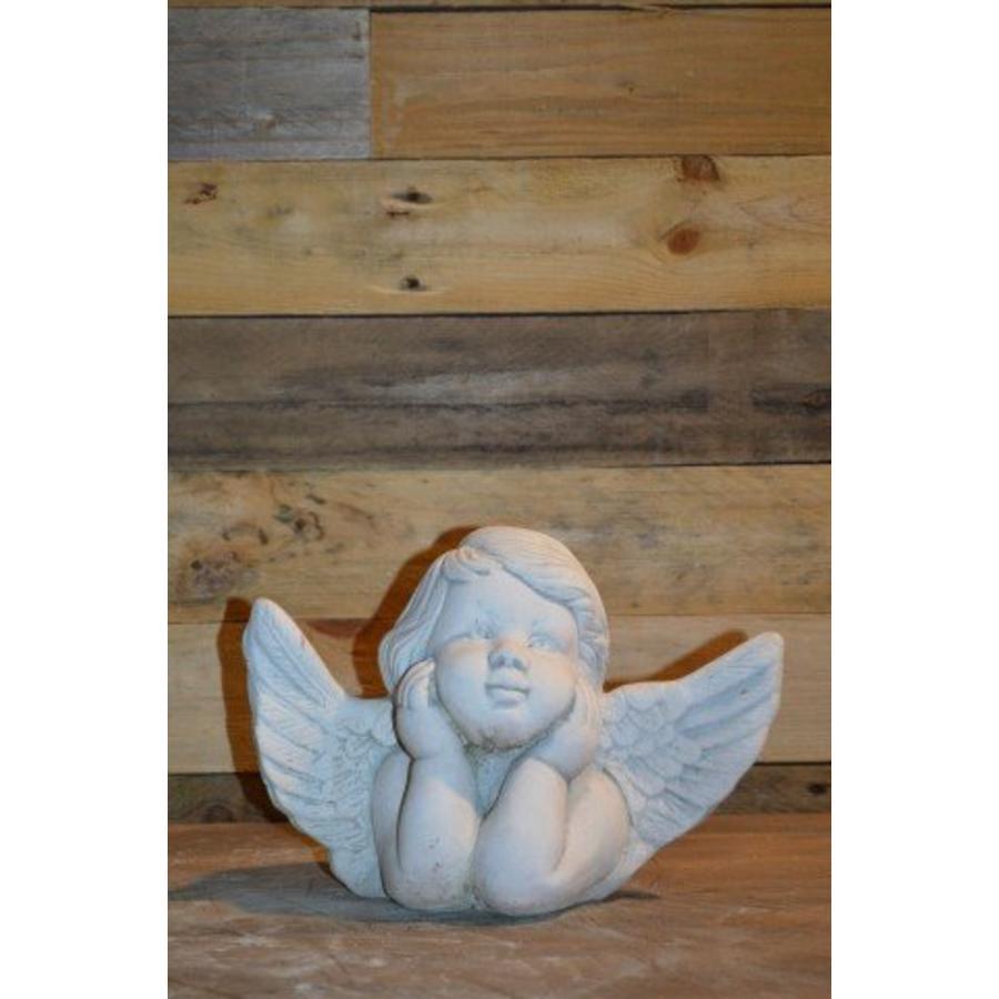 Engel met hoofd in de handen-1