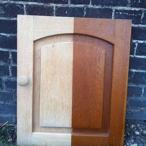 Gestraald hout  oud wordt weer nieuw