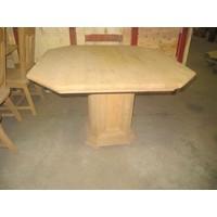 thumb-Eettafel massief eiken 8 hoekig-1