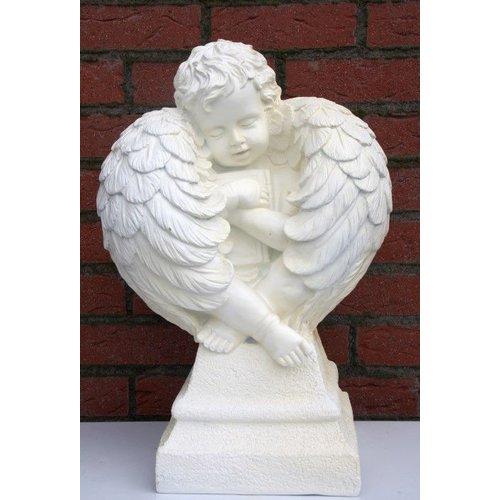 Engel die zit te rusten