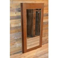 thumb-Eiken kastdeur met een facet geslepen spiegel-2
