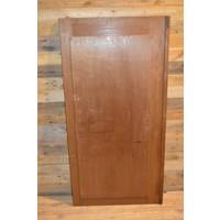 thumb-Eiken kastdeur met een facet geslepen spiegel-4