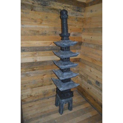 Japanse pagode meerdere verdiepingen