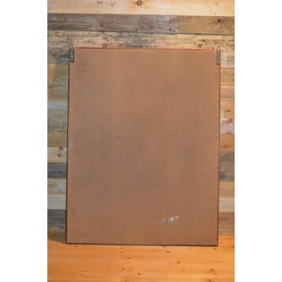 Eiken schilderijlijst met een poster erin van Mexx-5