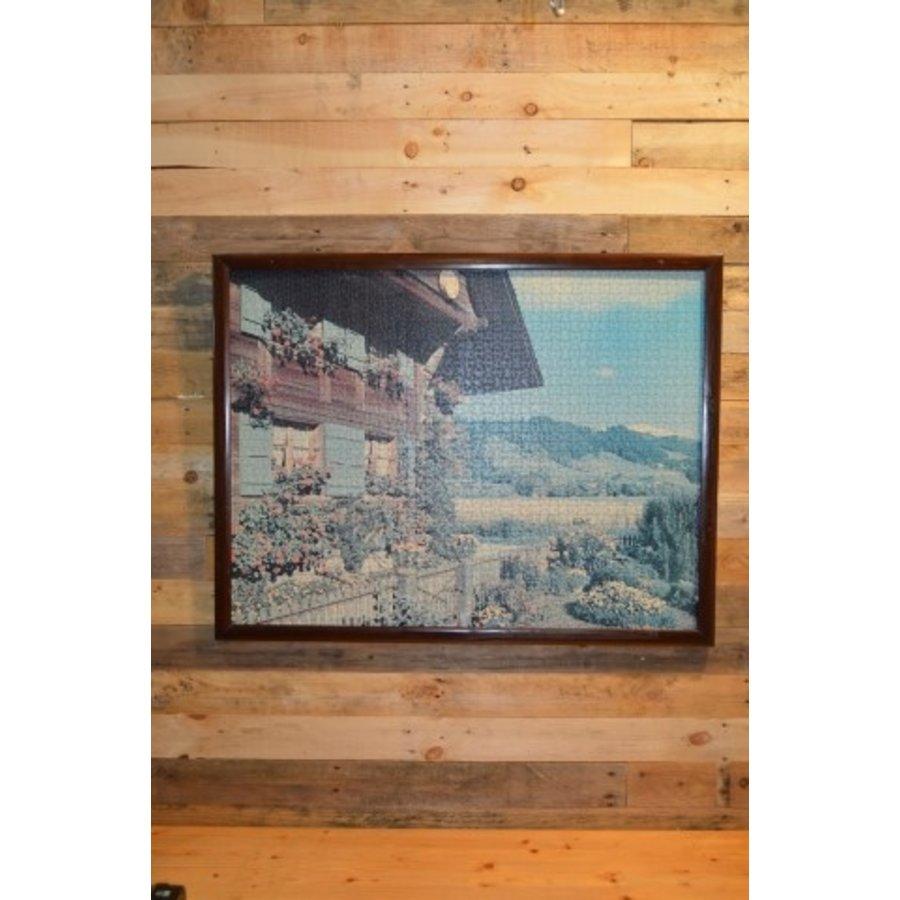 Schilderij van een puzzel Tiroler huis-1