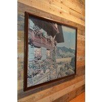 thumb-Schilderij van een puzzel Tiroler huis-2