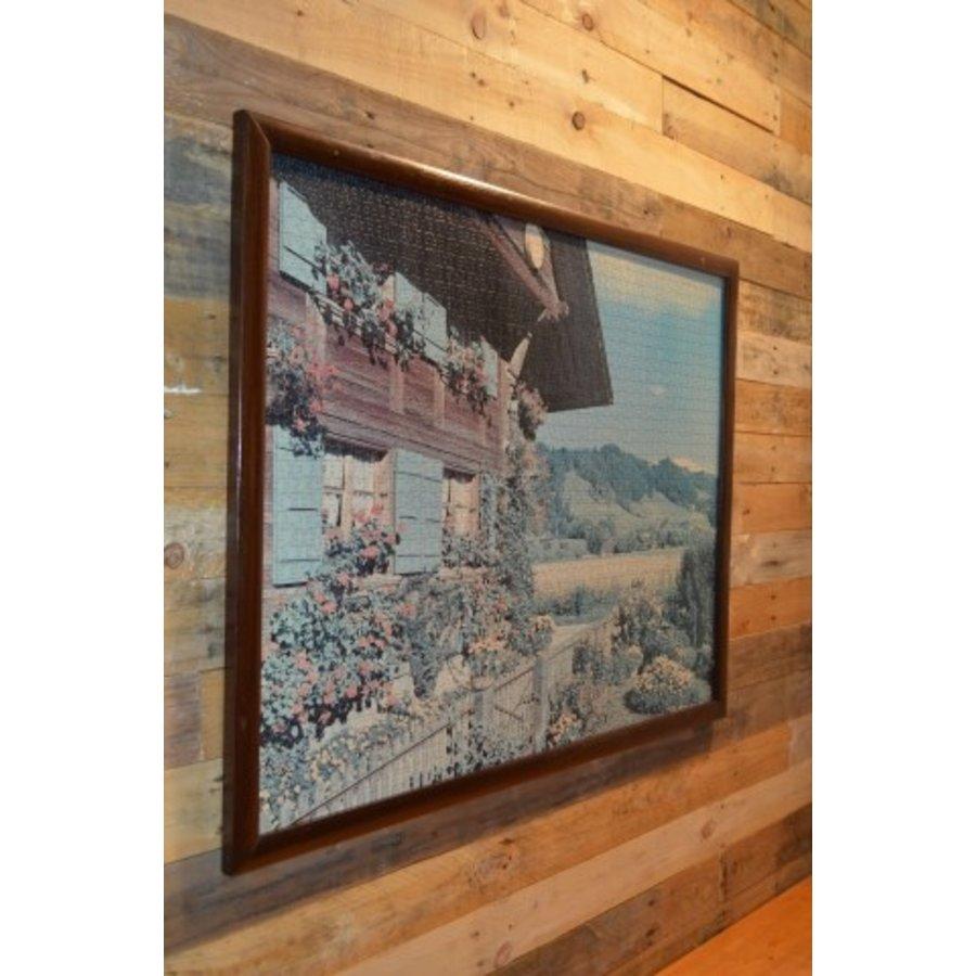 Schilderij van een puzzel Tiroler huis-2
