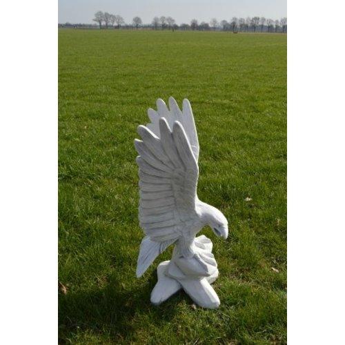 Arend met de vleugels omhoog