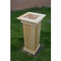 thumb-Bloembak gemaakt van pallethout-3