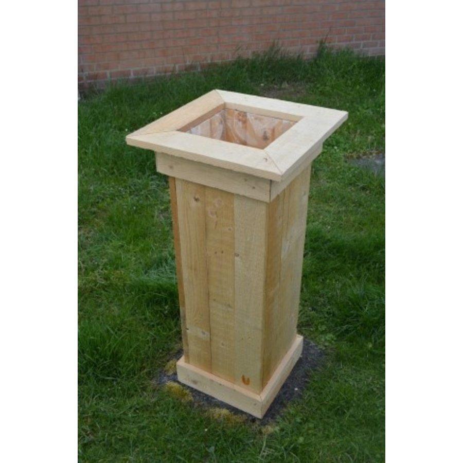 Bloembak gemaakt van pallethout-3