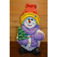thumb-Sneeuwman Rode muts leuk voor de kerst-1