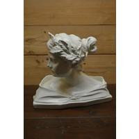thumb-Romeinse of Griekse vrouw buste borstbeeld-1