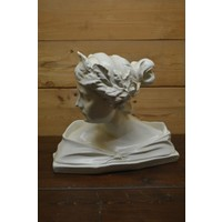 thumb-Romeinse vrouw buste borstbeeld-1