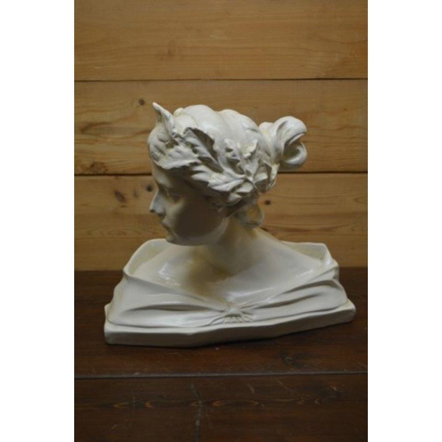 Romeinse of Griekse vrouw buste borstbeeld-1
