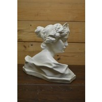 thumb-Romeinse of Griekse vrouw buste borstbeeld-3