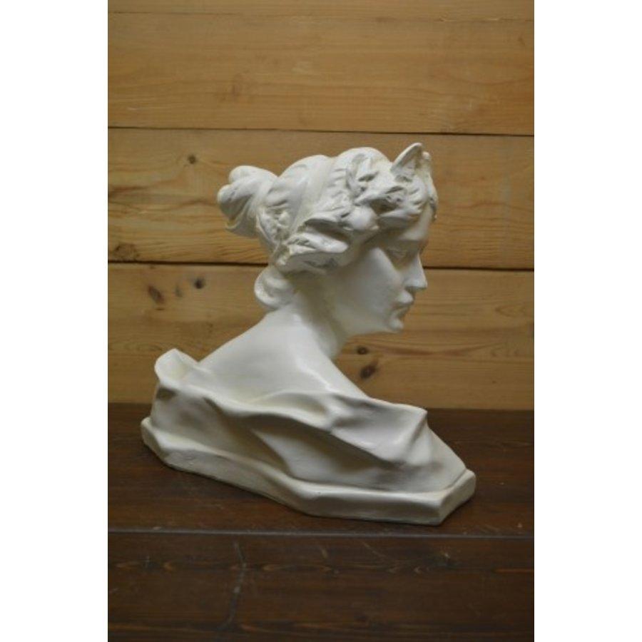 Romeinse of Griekse vrouw buste borstbeeld-3