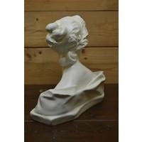 thumb-Romeinse of Griekse vrouw buste borstbeeld-4
